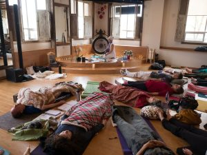 sleeping gong