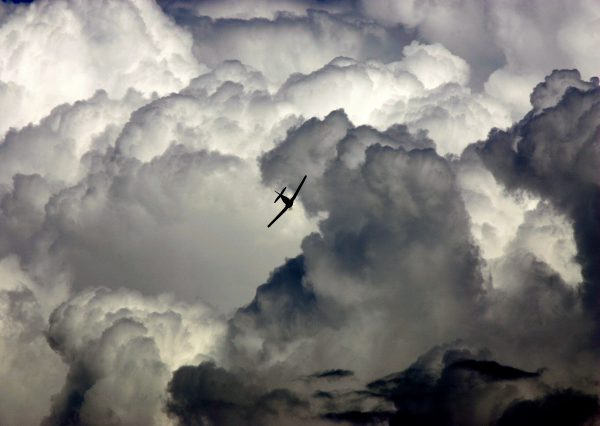 airplane-storm-clouds