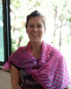 Mimi in india, close up